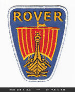 Rover Patch Embroidered Sew Iron Cars Automobile Oldtimer England