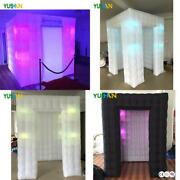 Mini Cute Cube Portable Photo Booth 6ft Inflatable Selfie Enclosure Photo Booth