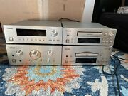 Teac Reference 500 Series A-h500 Amplifier, T-h500 Tuner, Dv-h500 Cd/dvd R-h500