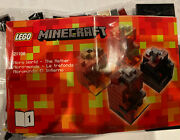 Lego Minecraft Micro World Andndash The Nether 21106 - Complete No Box