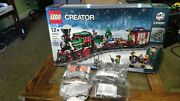 Lego Creator Winter Holiday Train 10254 - 734 Pcs And 4 Pc Lego Power Functions