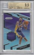 2016-17 Brandon Ingram Rookie Jerseys Silver Prizm 42 Rc Patch Bgs 9.5 Pop 2