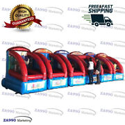 28x5.9ft 6 In 1 Interactive Inflatable Activities Sports Games With Air Blower