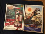Vintage Turkish Horror Movie Posters Lot 9 Posters