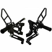 Woodcraft Ducati Panigale 899 959 1199 1299 S R V2 Foot Pegs Rearset Rear Sets