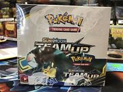 Team Up Booster Box Sealed Case Fresh Will Ship W/ Great Protection