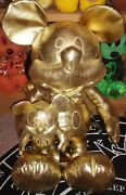 Disney Limited Release Gold Golden Mickey Mouse 90 Years Large Small Plush