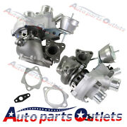 179204+179205 Pair K0cg Turbos New For Ford 2010-2012 F-150 Trucks Ecoboost 3.5l