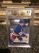 Alexis Lafreniere Young Guns Canvas Rookie Card Becket 9.5 With 10 Subs