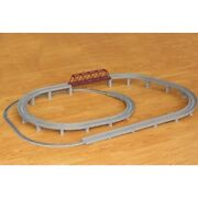 Rokuhan Classic Truck Single Track Overpass Set [online Only] [free Shipping]
