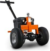 Electric Trailer Dolly - 3600 Lbs - 2 Hitch - Adjustable Height - Reversible