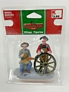 New Lemax Coventry Cove Village Figurines Wheel Makers 2009 Rare