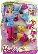 New In Box Barbie Potty Training Taffy Barbie Doll And Pet Playset