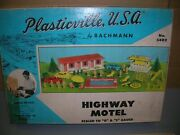 Plasticville Usa 5402 Highway/ Motel Set In Box Complete - Make Offers
