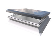 Mardome Electric Opening Rooflight - Electric Roof Window For Flat Roofs
