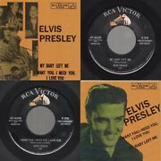 Elvis Presley My Baby Left Me /i Want You I Need You. Rca Victor 47-6540