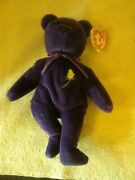 New Princes Diana Beanie Baby Plush New Never Played With Mint Condition Very Ra