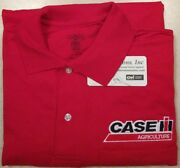 Case Ih Embroidered Mens Polo Shirt W/pocket 5 Colors