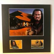 Oded Fehr Signed 14x14 Photo Display The Mummy Returns Authentic Inkworks