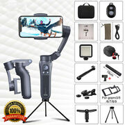 Handheld Gimbal 3 Axis Foldable Stabilizer For Iphone Smart Phones Pocket Stick