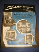 E H Sheldon And Company 1947 Catalog Asbestos In Lab Schools American Seating Co