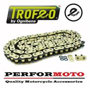 Trofeo Trx X-ring Gold 114 Link Chain For Mv Agusta 800 Brutale Dragster 13-18