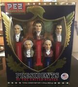 Nip Presidents Of The United States Of America Collectible Education Pez Set