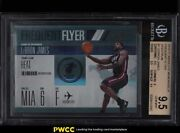 2010 Absolute Frequent Flyer Spectrum Lebron James Jrsy 23/100 1 Bgs 9.5 Gem
