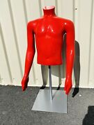 Disney Original Cast Member Prop Mannequin Used For Display Red Youth