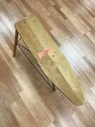Toywood Ironing Board Foldable Table - Saginaw Manufacturing - Made In Usa