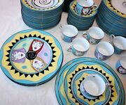 Girl Talk Porcelain Dinnerware By Denise Ford Glazed Donuts 61 Pieces 1995