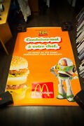 Toy Story Mac Donaldand039s 4x6 Ft Bus Shelter D/s Movie Poster Original