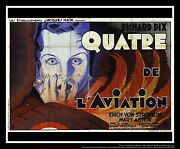 The Lost Squadron Style A 5x8 Ft Double French Grande Movie Poster Original 1932