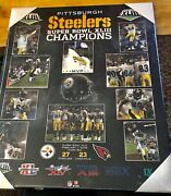 Steelers Super Bowl Xliii Poster Super Bowl Poster Board Brand New In Wrapper