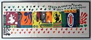 Listed French Artist - Henry Matisse 1869-1954 - Litho. - 48 X 20. Signed
