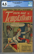 Teen-age Temptations 7 Cgc 4.5 Off-white To White Pages 1954