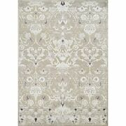 Cire 5and0393w X 7and0396l Power-loomed Aurora Regal Area Rug In Mushrom/antique Cream
