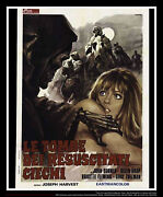 Tombs Of The Blind Dead 39 X 55 Italian Two Sheet Movie Poster Original 1971