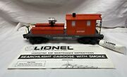 Lionel 6-19707 Southern Pacific Work Caboose W/ Searchlight Ex/box