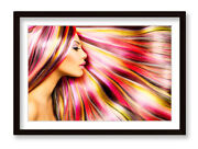 Hair Dressers Beauty Salon Framed Wall Artwork Picture Poster Print
