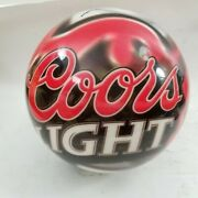 Coors Light Beer Bowling Ball Rare - Undrilled 15 Lbs