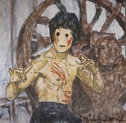 Madsaki Enter The Dragon Ii Inspired By Robert Clouse P. Signed. Ltd Ed