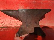 Antique William Foster 1857 Anvil 102 Lb Collectible Blacksmith Tool Early Rare