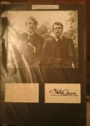Sherlock Holmes - Peter Cook Dudley Moore Signed Mounted Item