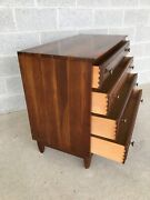 Willet Transitional Solid Cherry Mid Century Modern Bachelor Chest