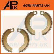 Brake Shoes + Linings Lh Rh For Ford 2000 2600 2610 3000 3600 3610 4110 Tractor