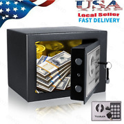 Electronic Digital Home Security Office Money Jewelry Gun Keypad Safe Box 3color