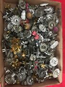 Lot 143 Antique Victorian Christmas Tree Candle Holders Clip On Tin Metal