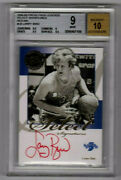 Larry Bird 2008-09 Press Pass Legends Select Signatures Red Ink  Awesome
