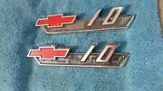 1960and039s 1962 Chevy Truck Parts C 10 Emblems Badges Trim Original Oem Vintage